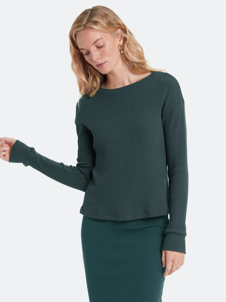 LETT Bergen Rib Pullover Top product image