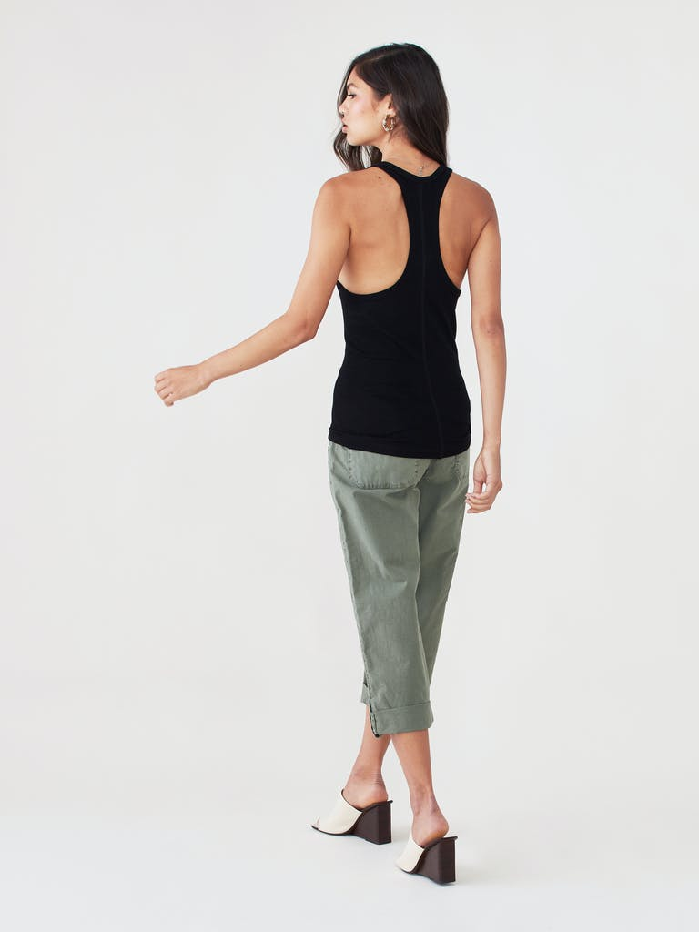 LNA Essential Ribbed Racer Tank product image