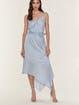 Love, Fire Wrap Dress with Asymmetrical Hem product image