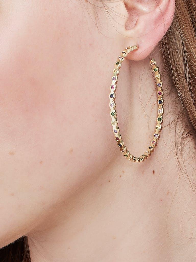 Melinda Maria Teeny Pod Hoops product image