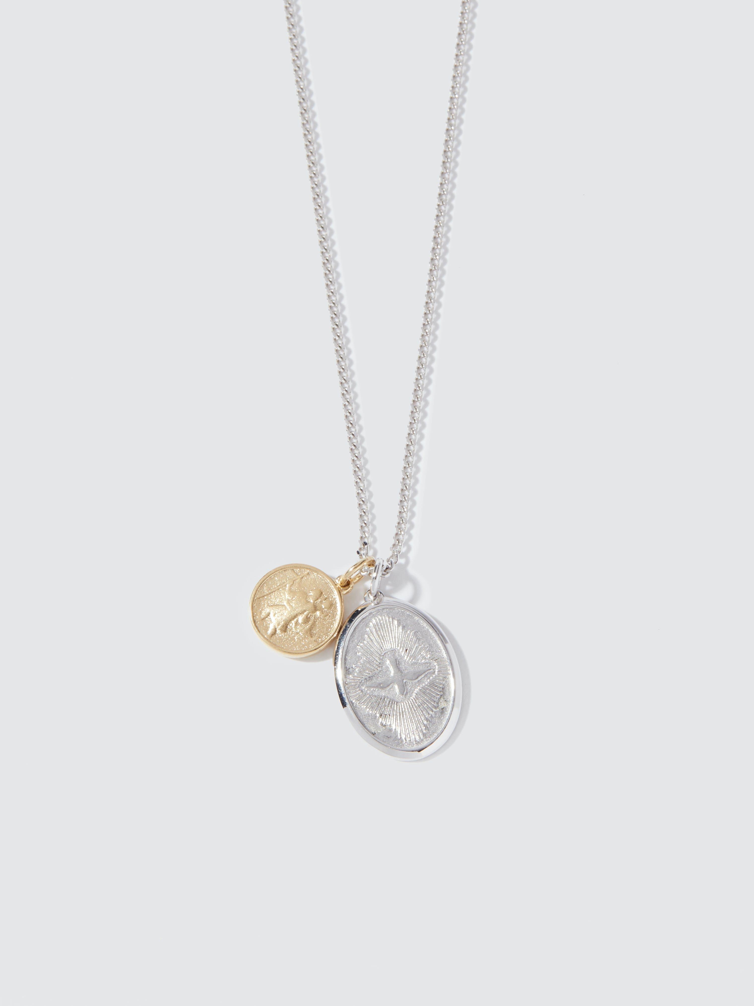 Dove I Love You in 3 Languages Affirmation Link Bracelet