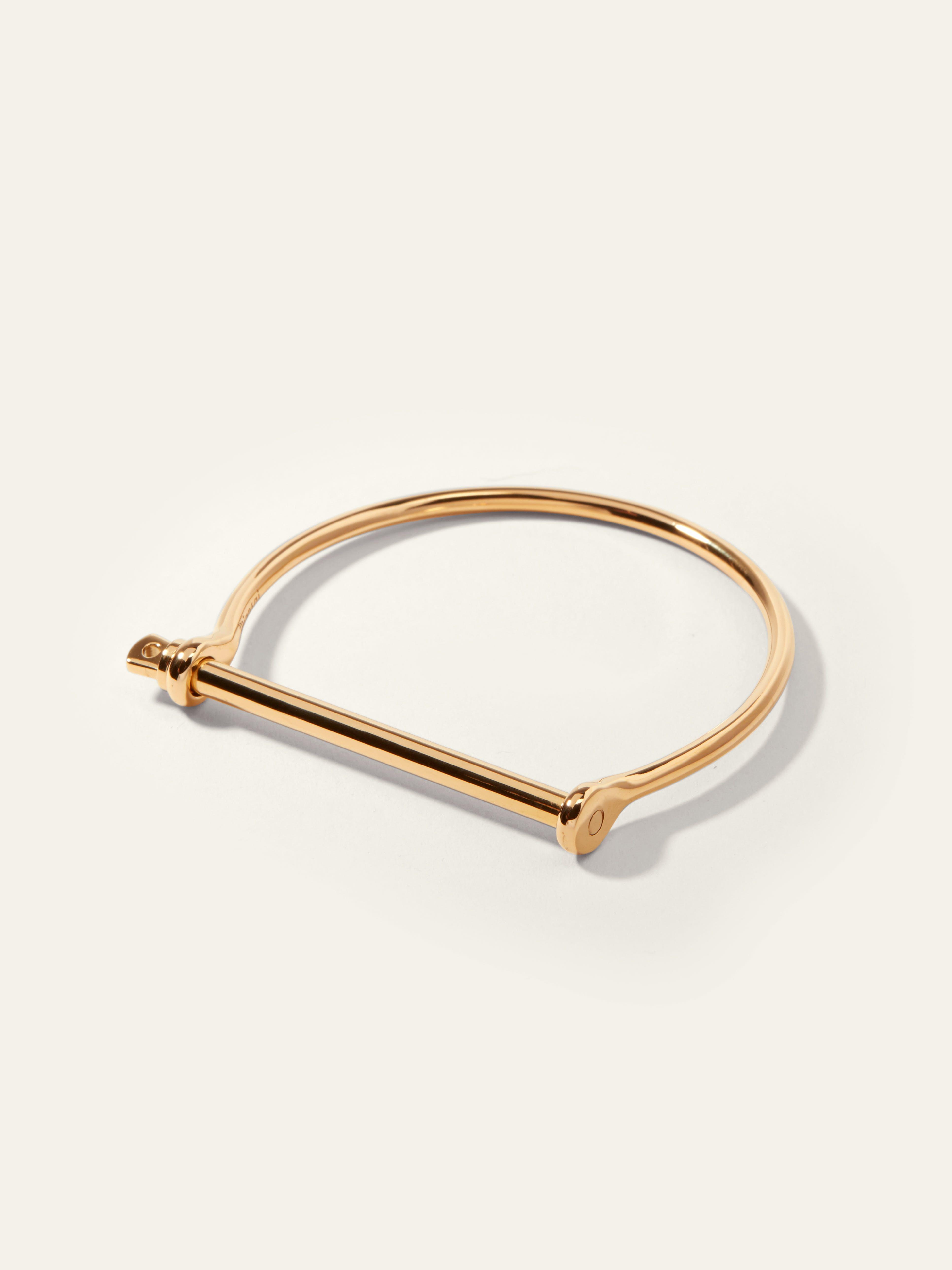 Arrow Jewelry Stainless Steel Screw Link Bracelet 10 Polished Finish