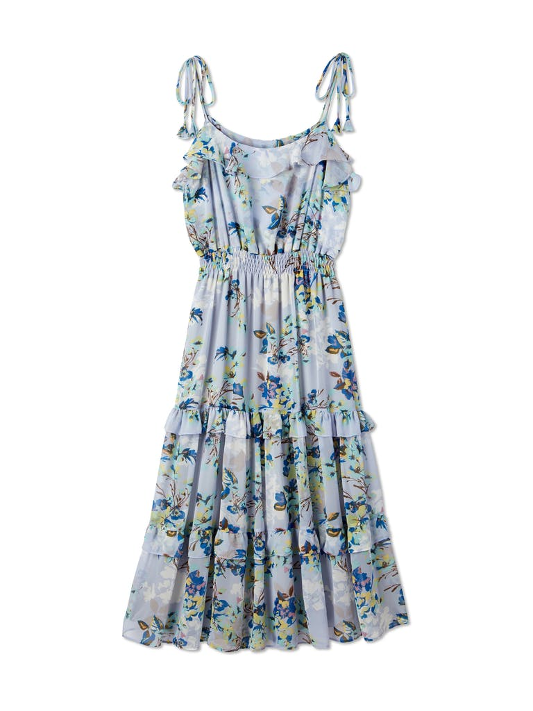MISA Los Angeles Inae Ruffle Midi Dress product image
