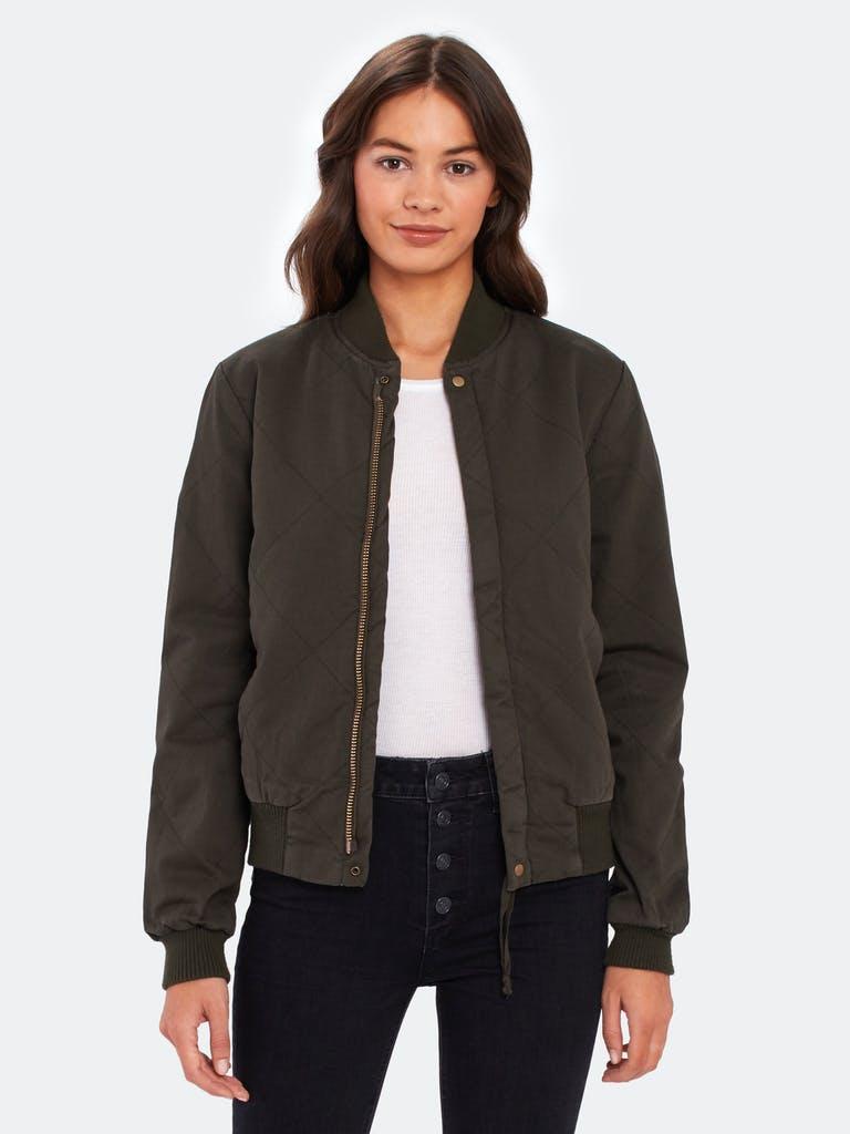NSF Clothing Neil Side Zip Bomber Jacket  product image