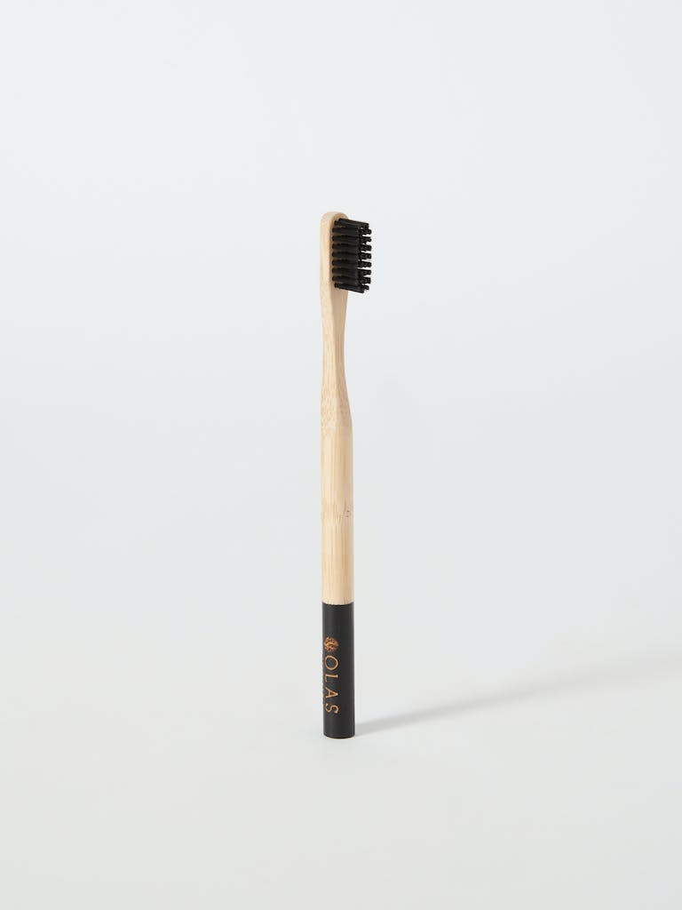 OLAS Oral Care Bamboo Charcoal Toothbrush product image