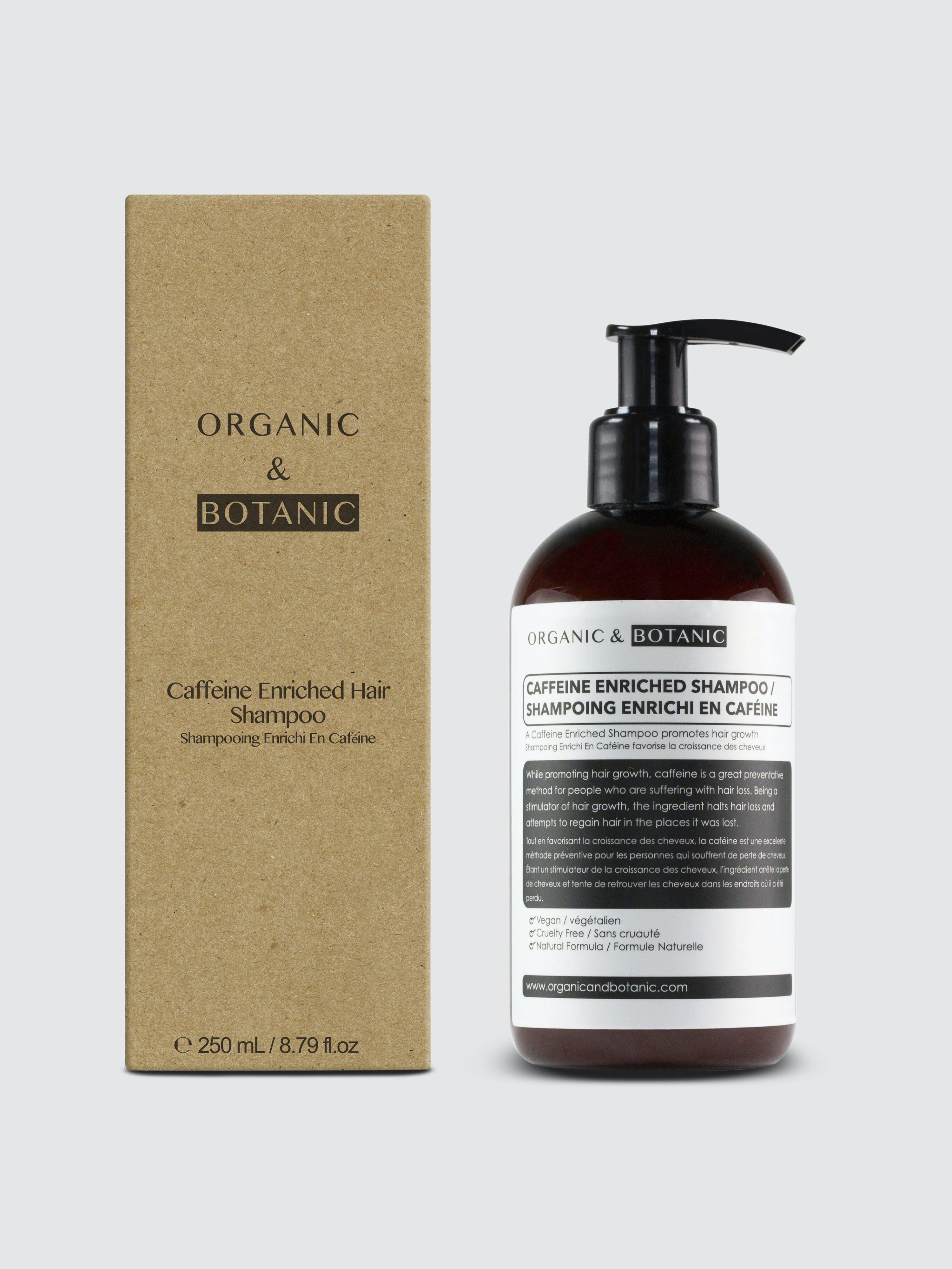 Organic & Botanic Caffeine Shampoo