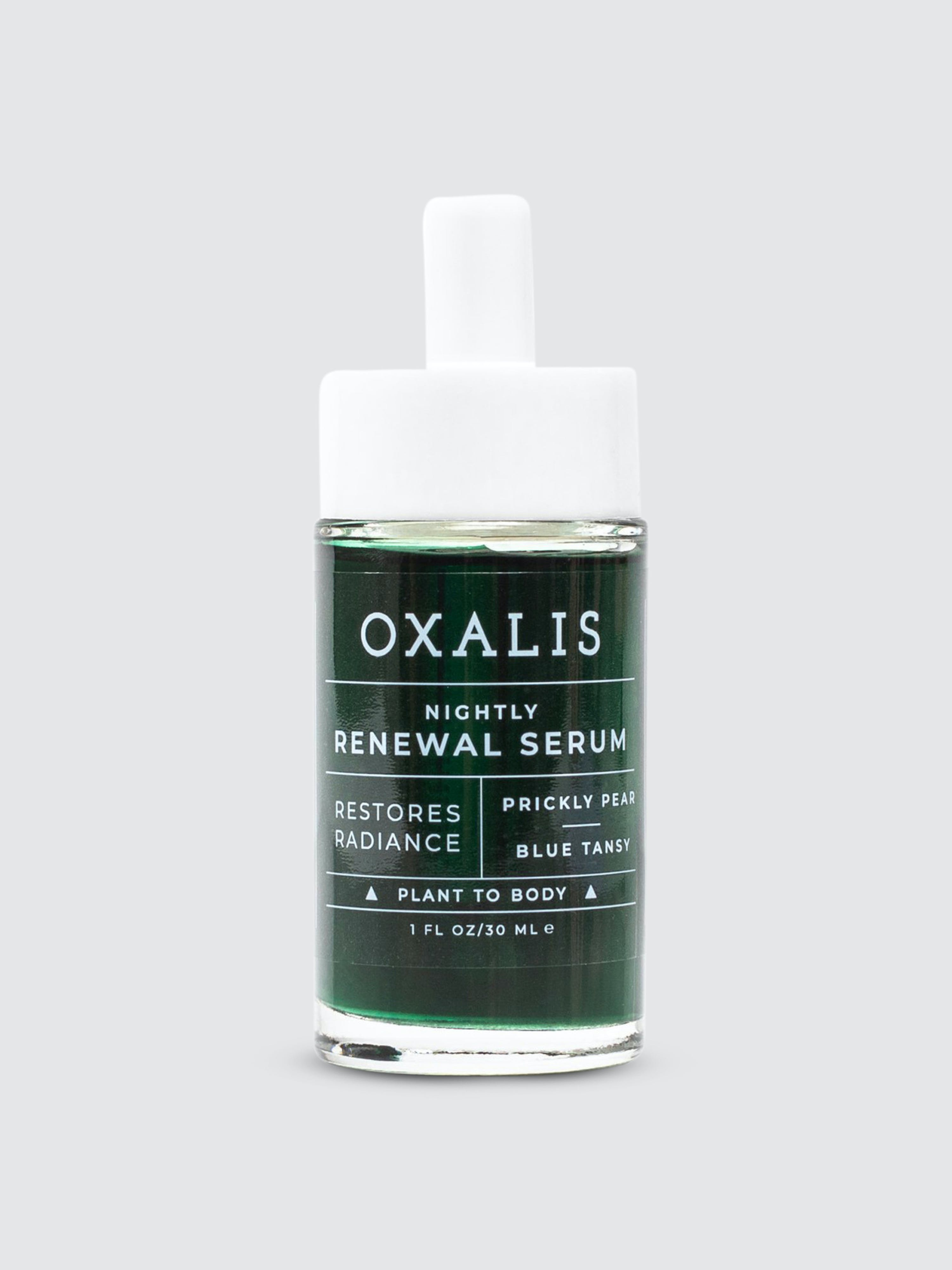 Oxalis Apothecary Nightly Renewal Facial Serum