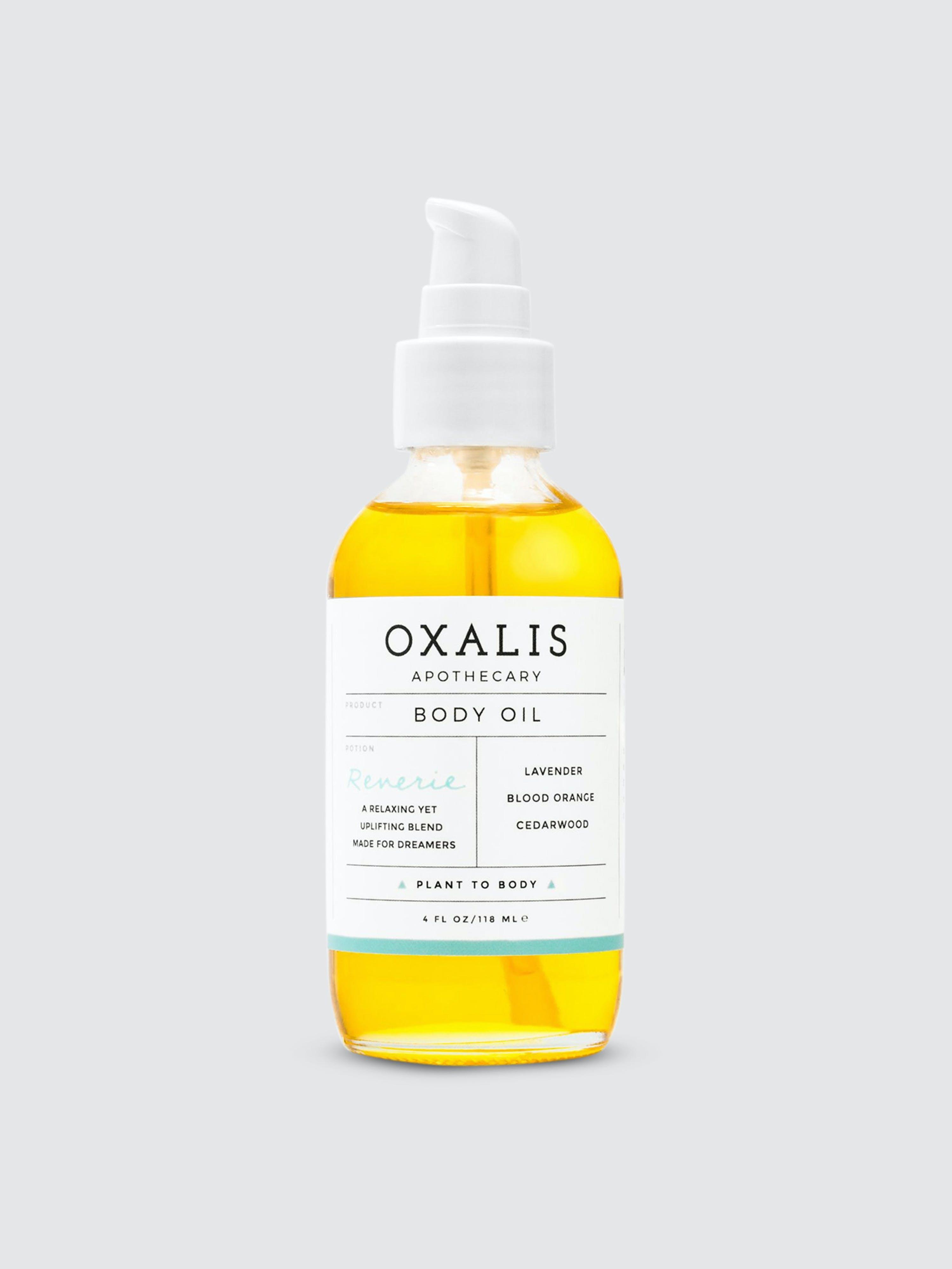 Oxalis Apothecary Reverie Body Oil   Calming Citrus