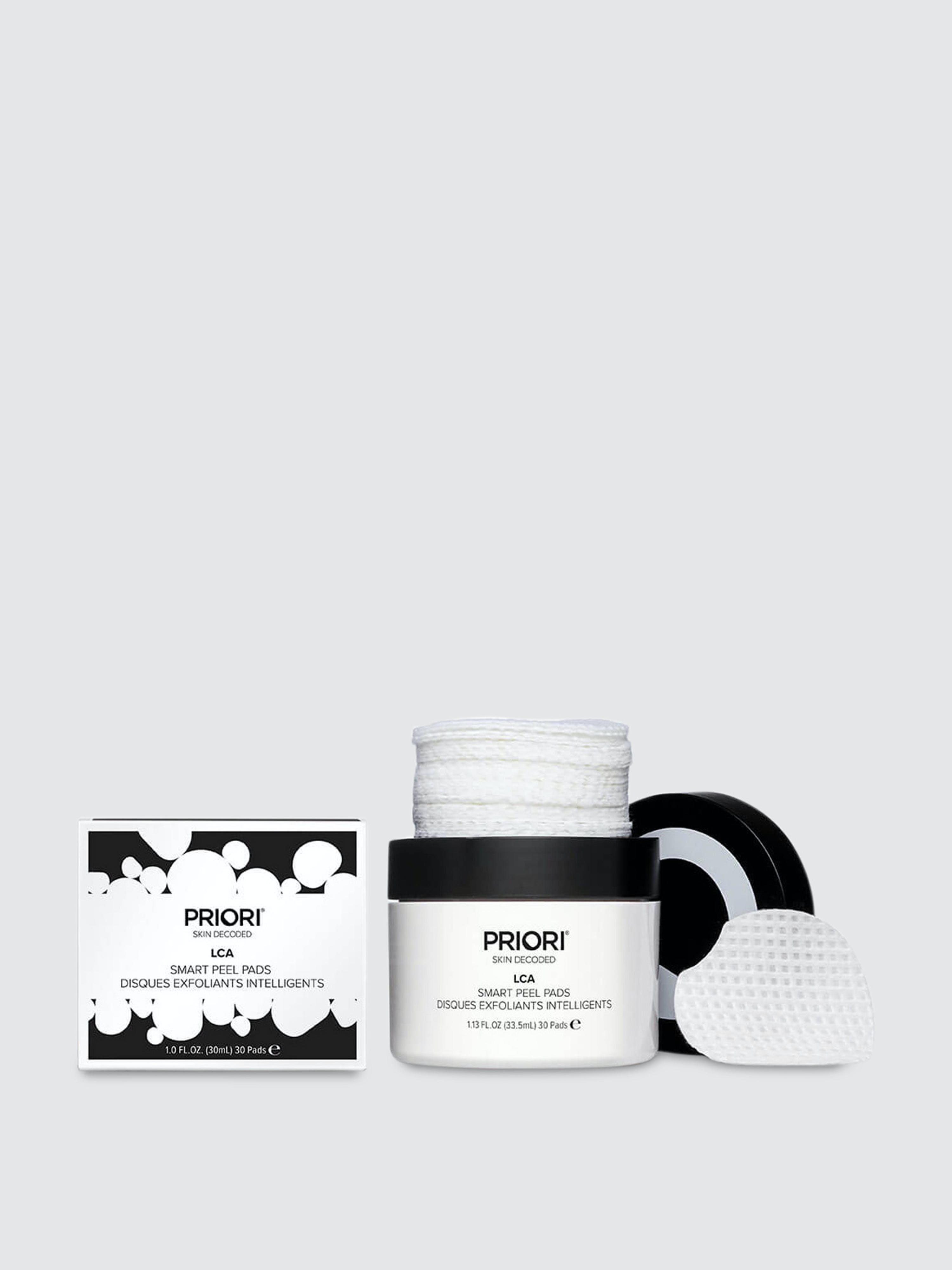 Priori Skincare Lca Smart Peel Pads