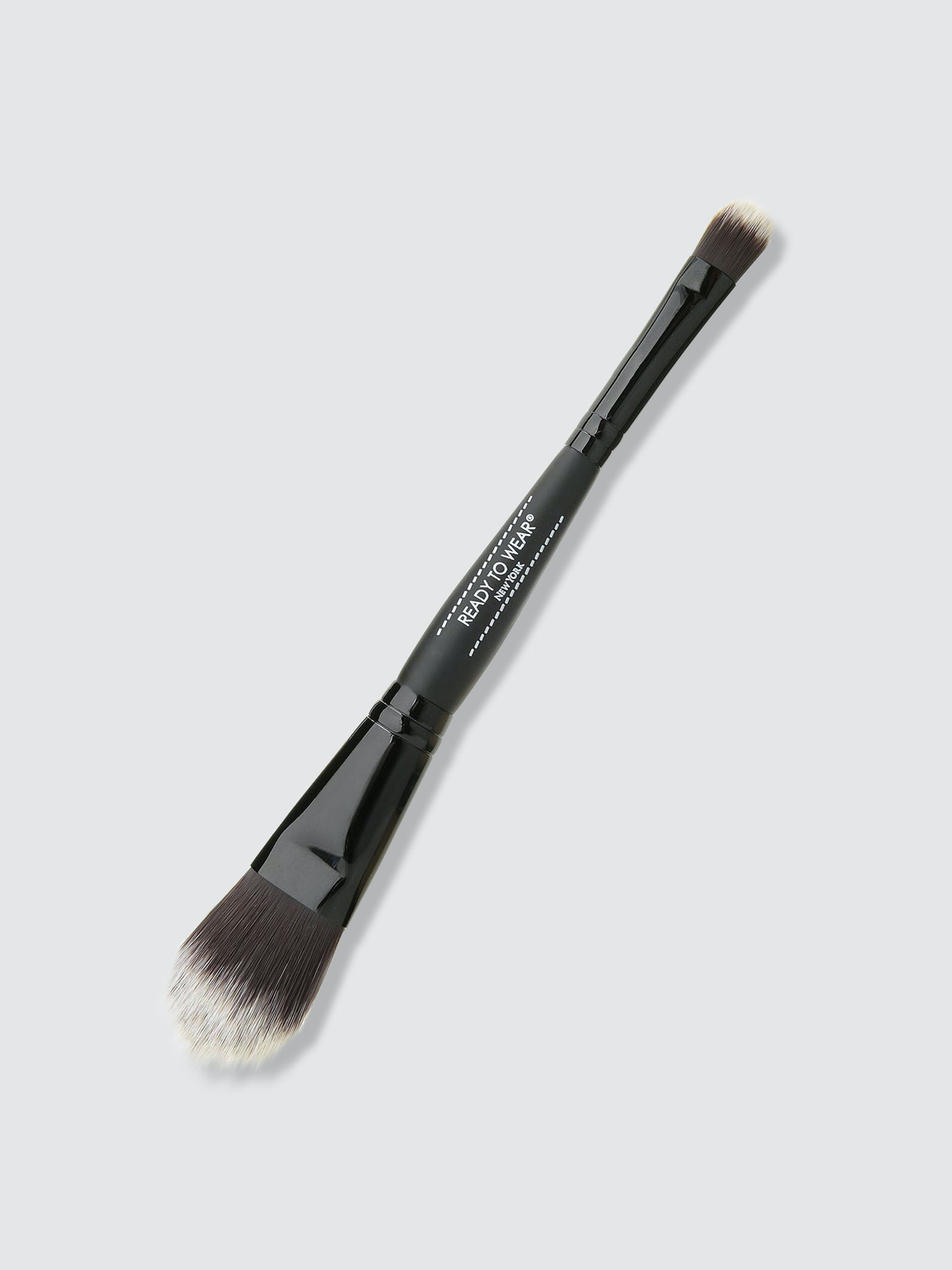 Ready To Wear Beauty Dual Ended Foundation-concealer Brush