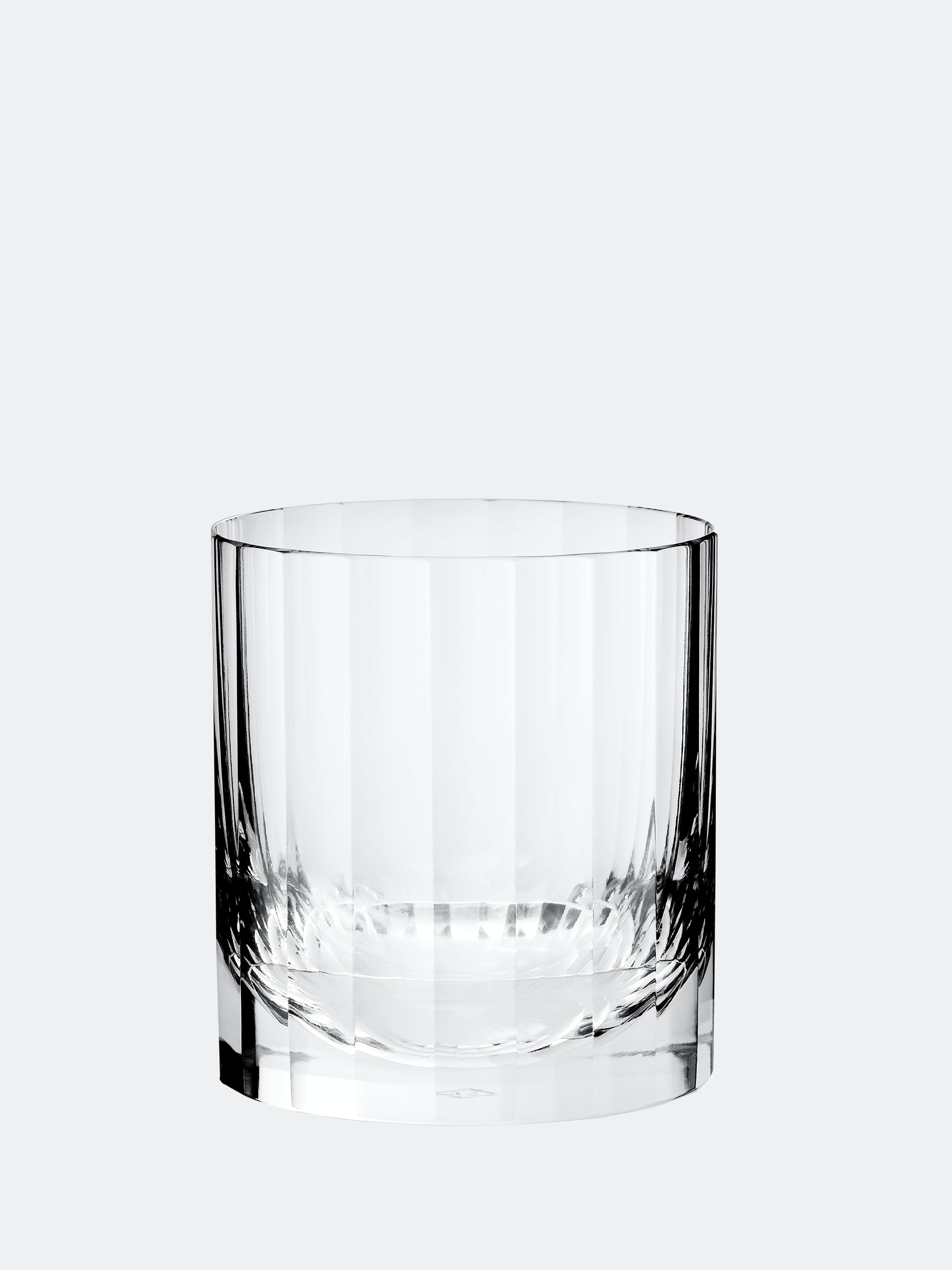 Richard Brendon Fluted Single Old Fashioned Tumbler In Clear