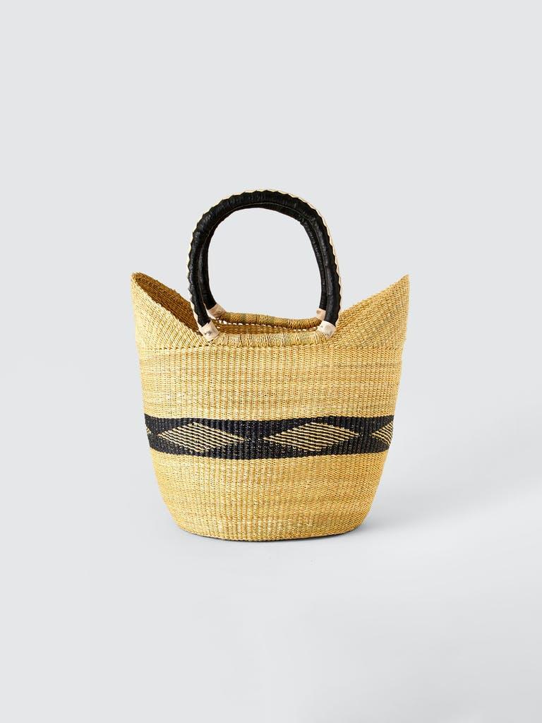 Savanna Baskets Diamond Straw Basket  product image
