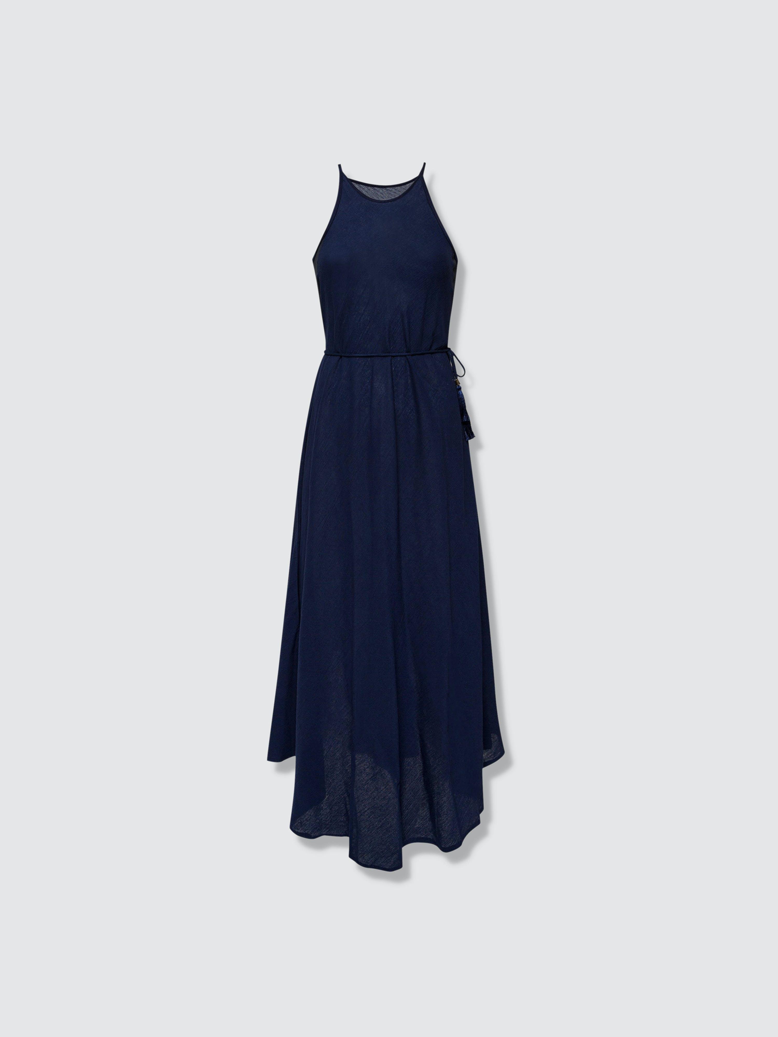 Secret Language Callie Maxi Dress In Blue