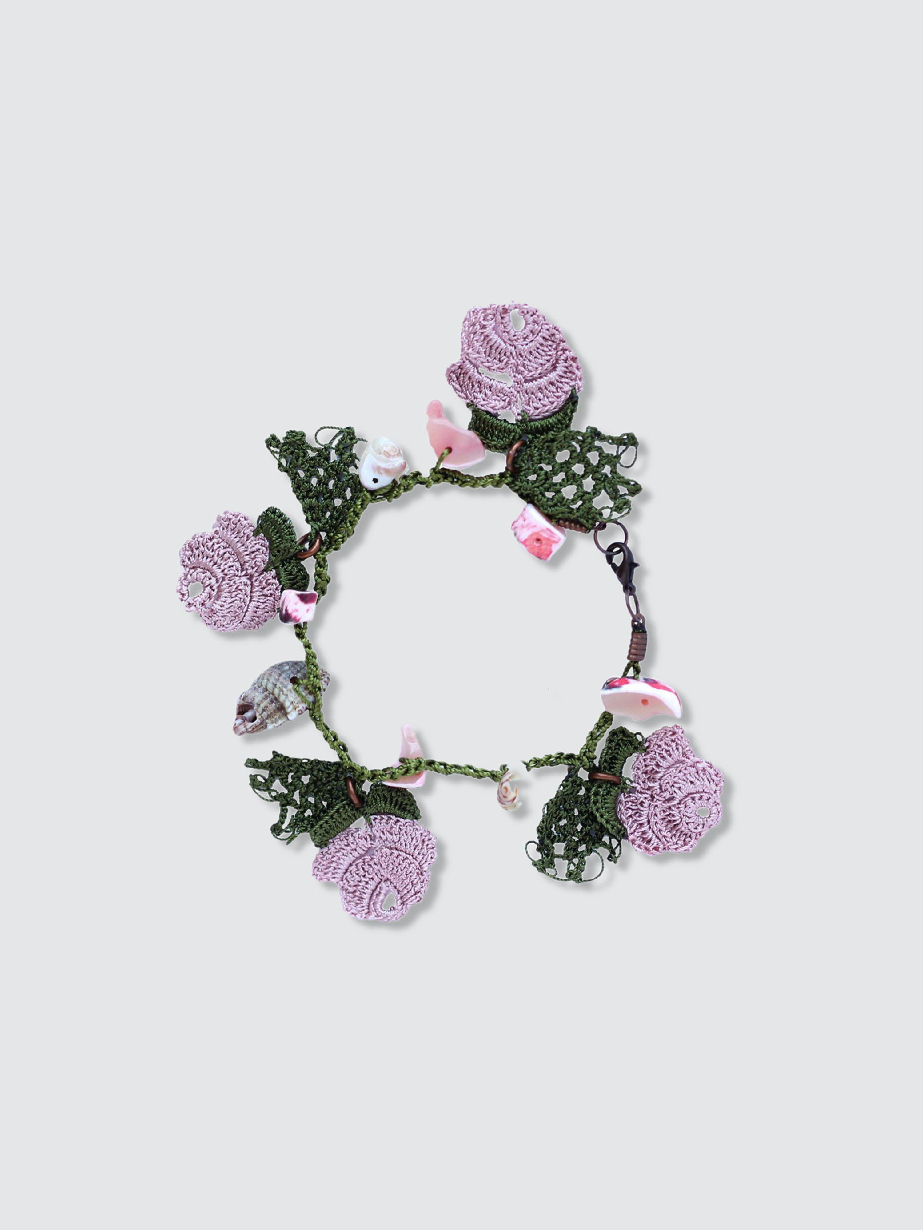 Secret Language Eden Beaded Bracelet In Pink