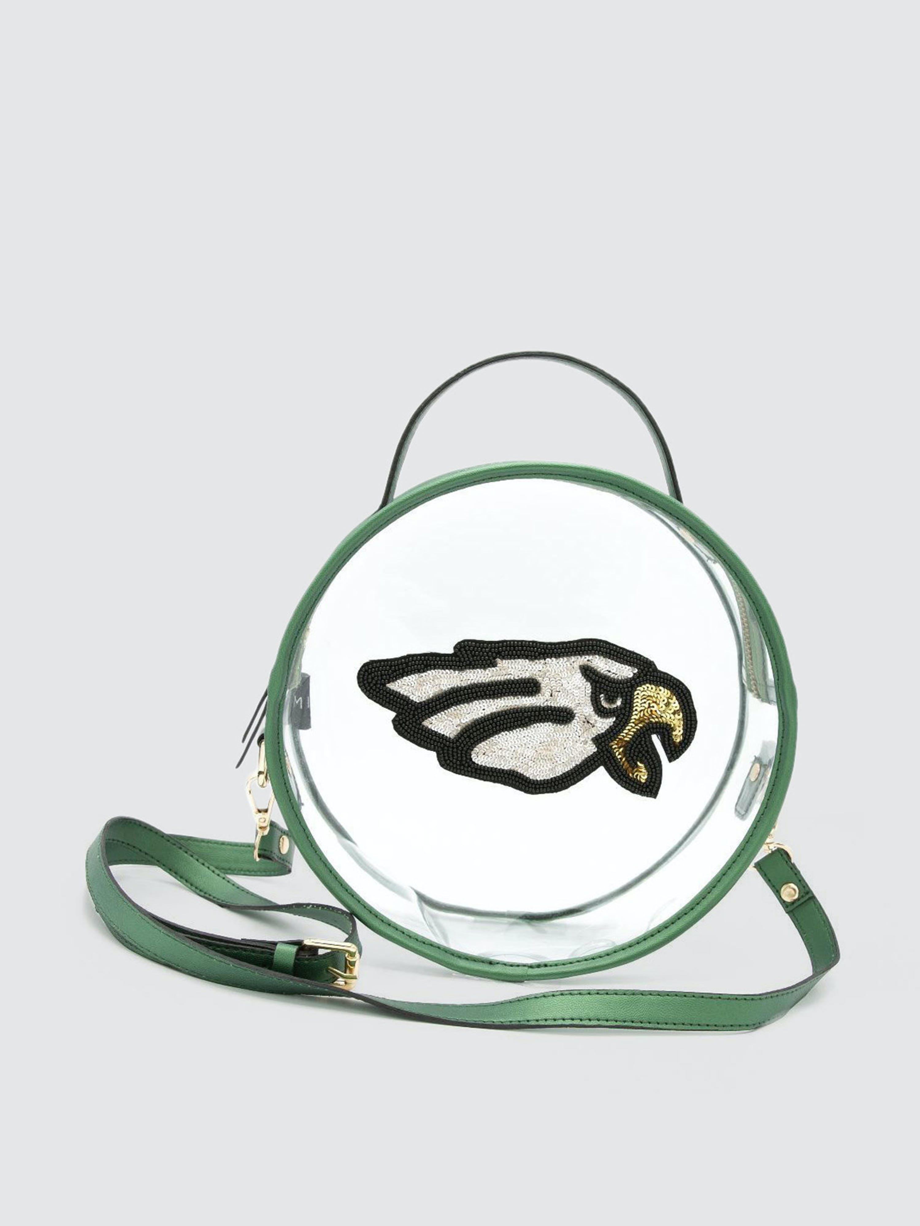 Simitri Eagle Game Day Bag In Green