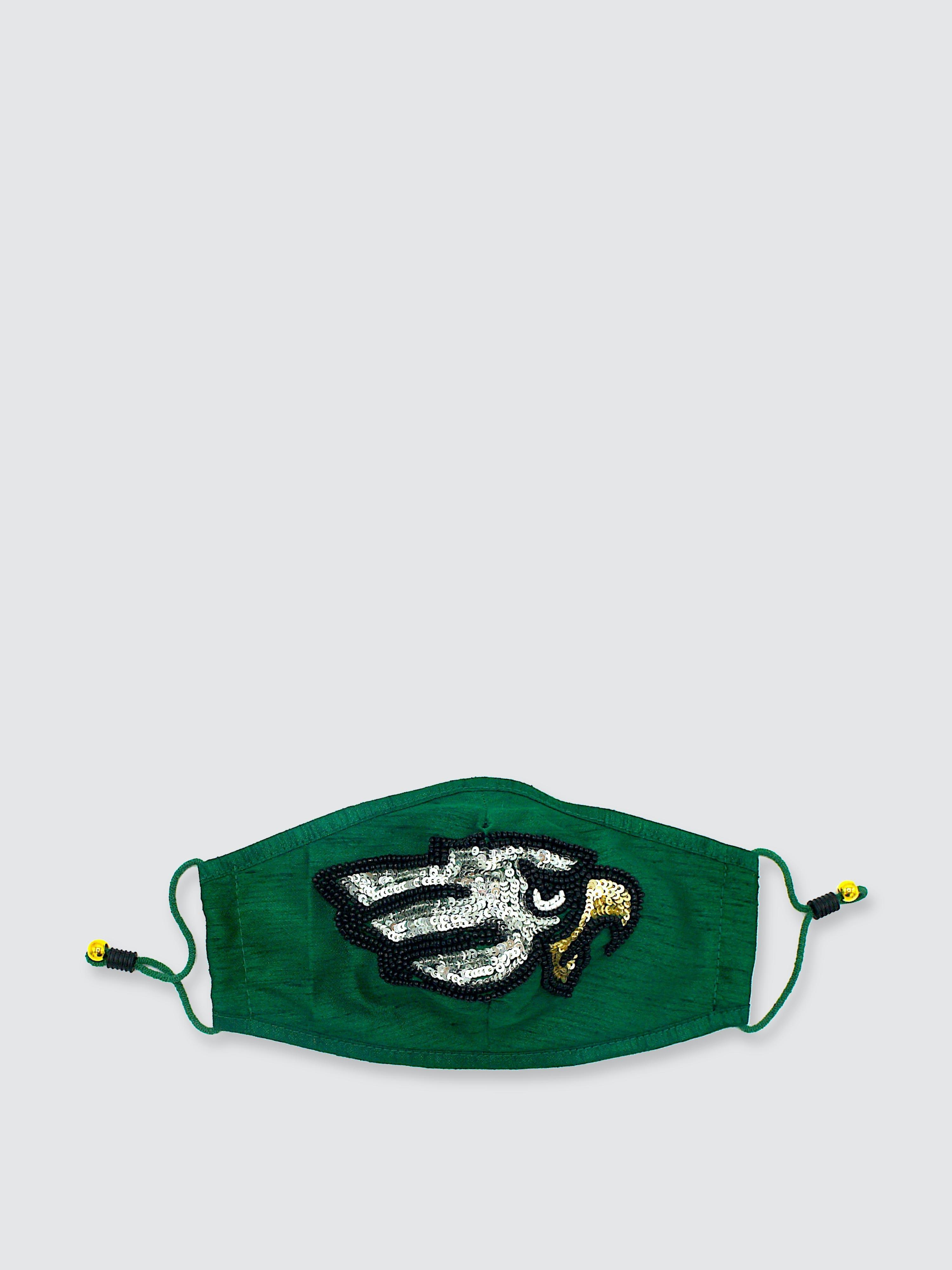 Simitri Eagle Mask In Green