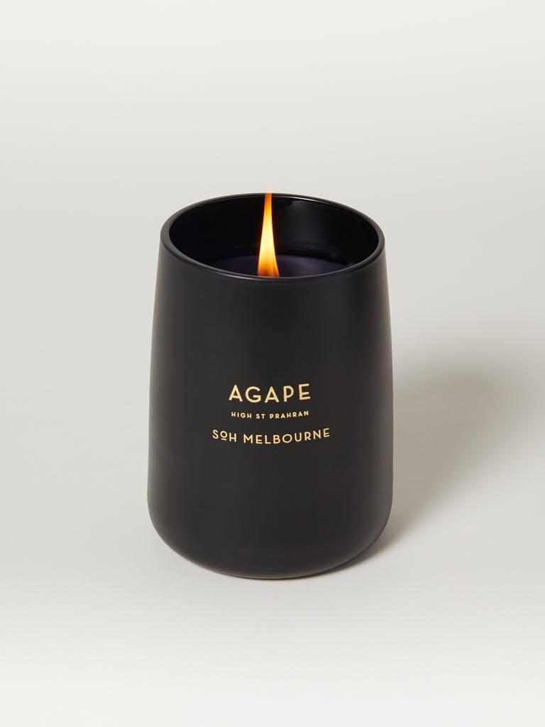 SoH Melbourne Agape Black Matte Candle product image