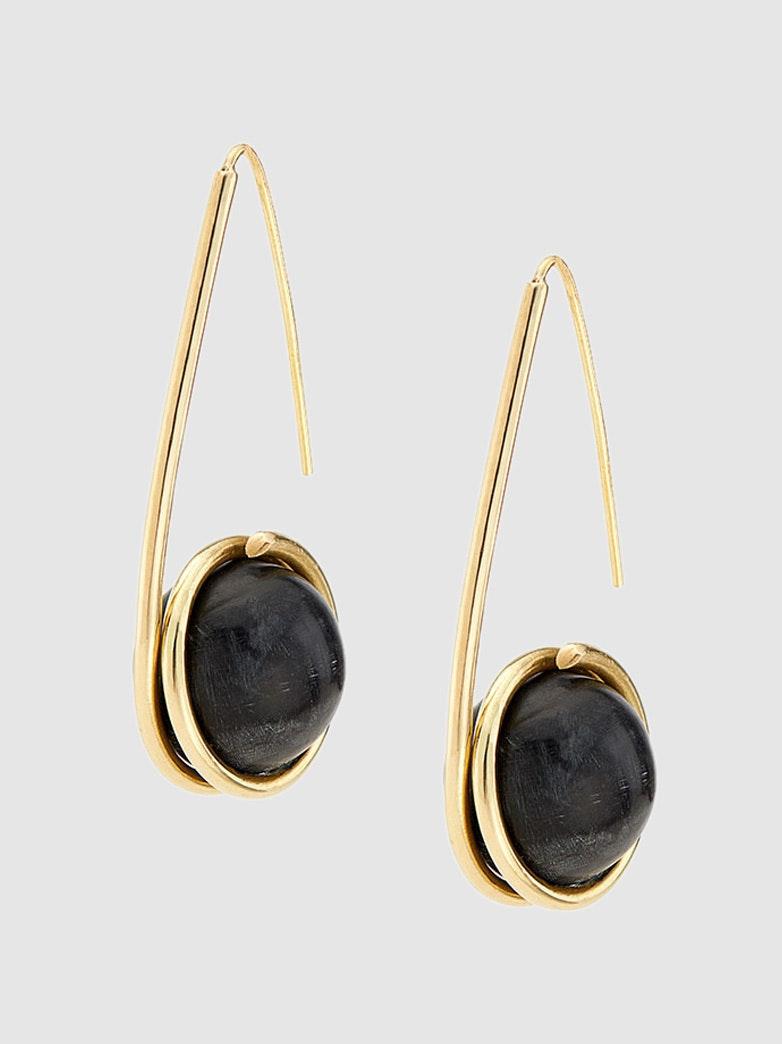 Women Earring Gold Hoop Earring Hollow Cactus Pendentif Levier Arrière Boucles d/'oreilles me0066