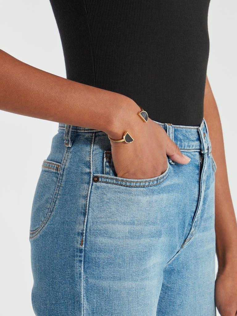 SOKO Split Moon Cuff Bracelet product image