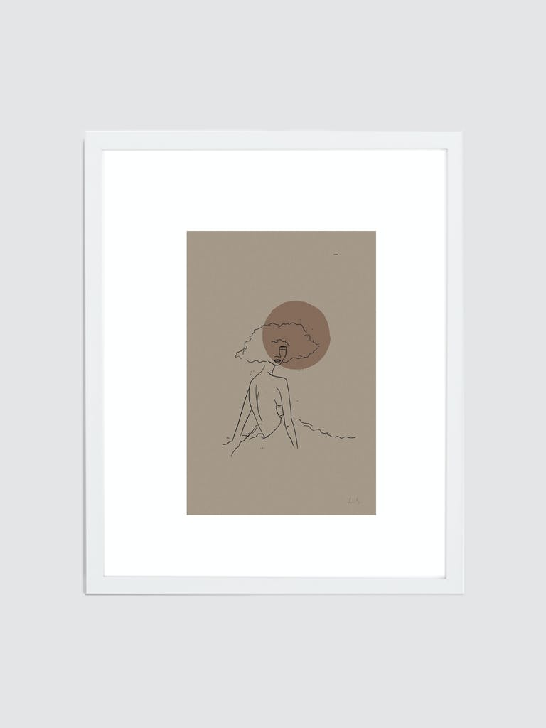"Spacey Studios ""The Calmness of June"" Framed Print product image"