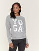 Spiritual Gangster Yoga Graphic Classic Crew Sweatshirt product image