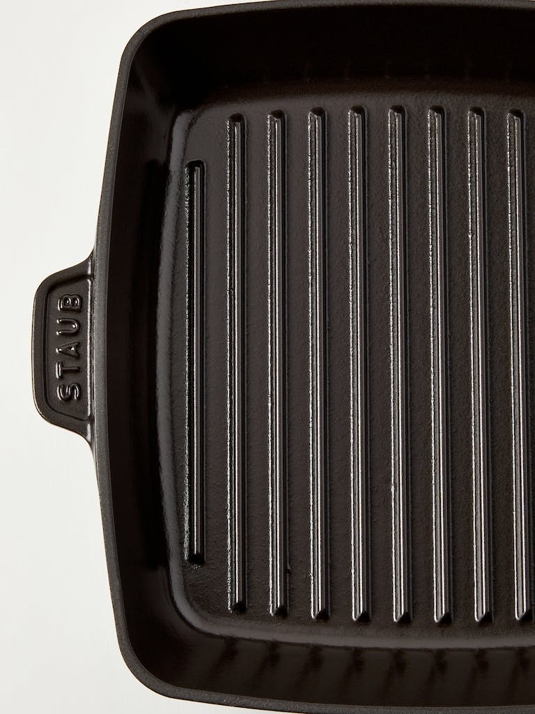 Staub 10-Inch Cast Iron Square Grill Pan product image