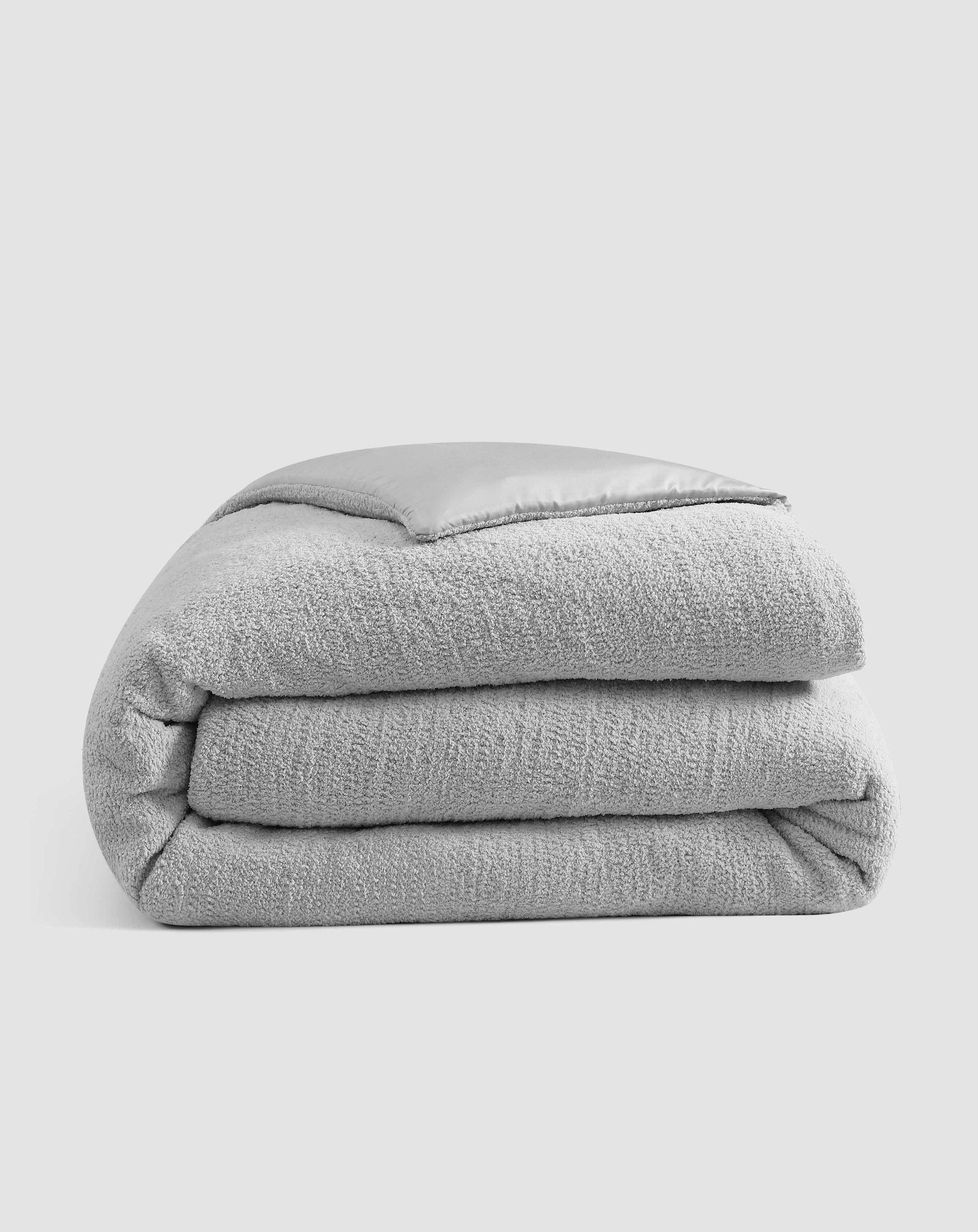 Sunday Citizen Snug Bamboo Duvet Cover In Grey