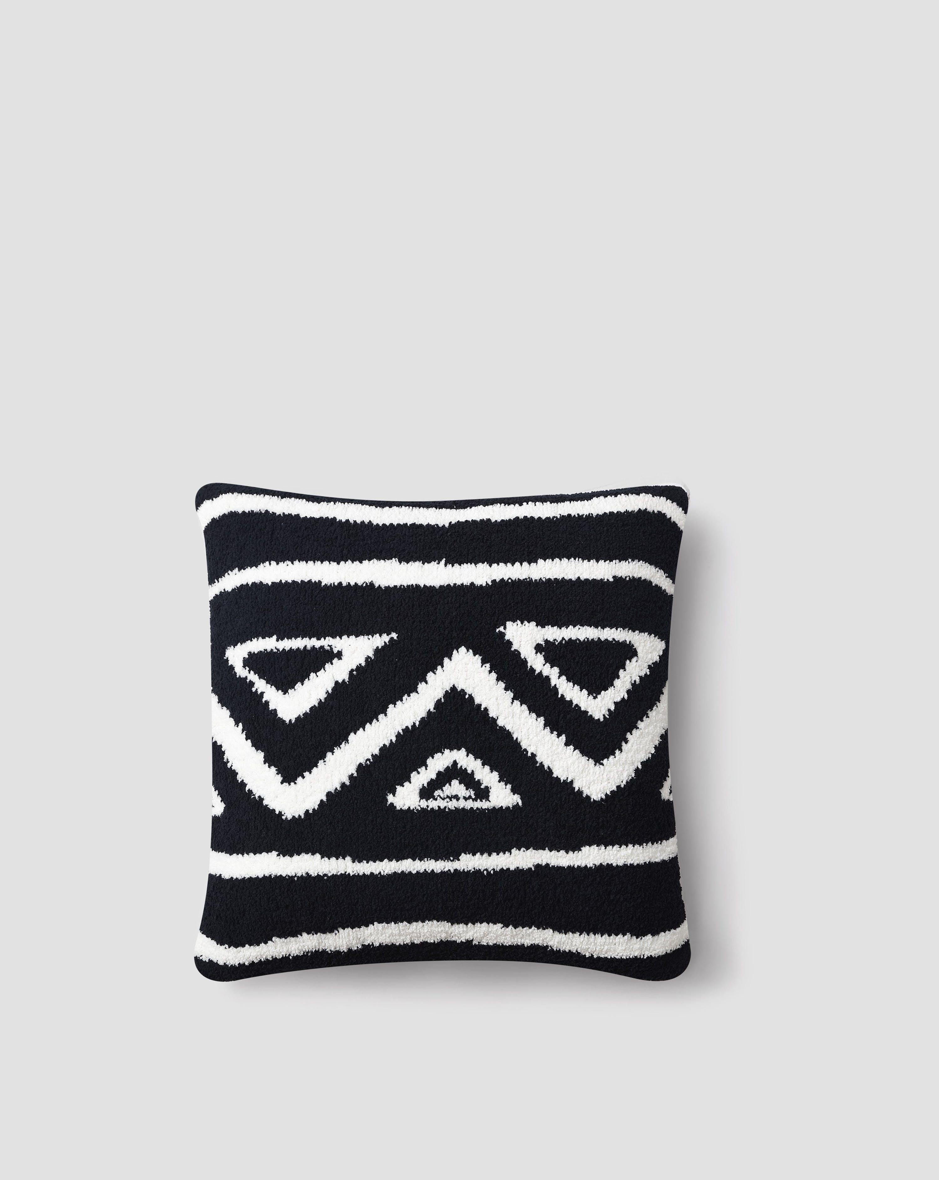 Sunday Citizen Tetouan Throw Pillow In Black