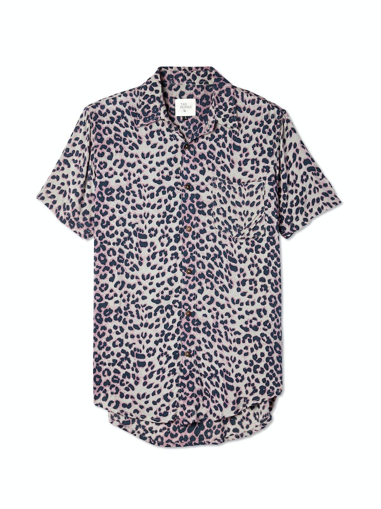 The People Vs. Stevie Leopard Button Up Shirt product image