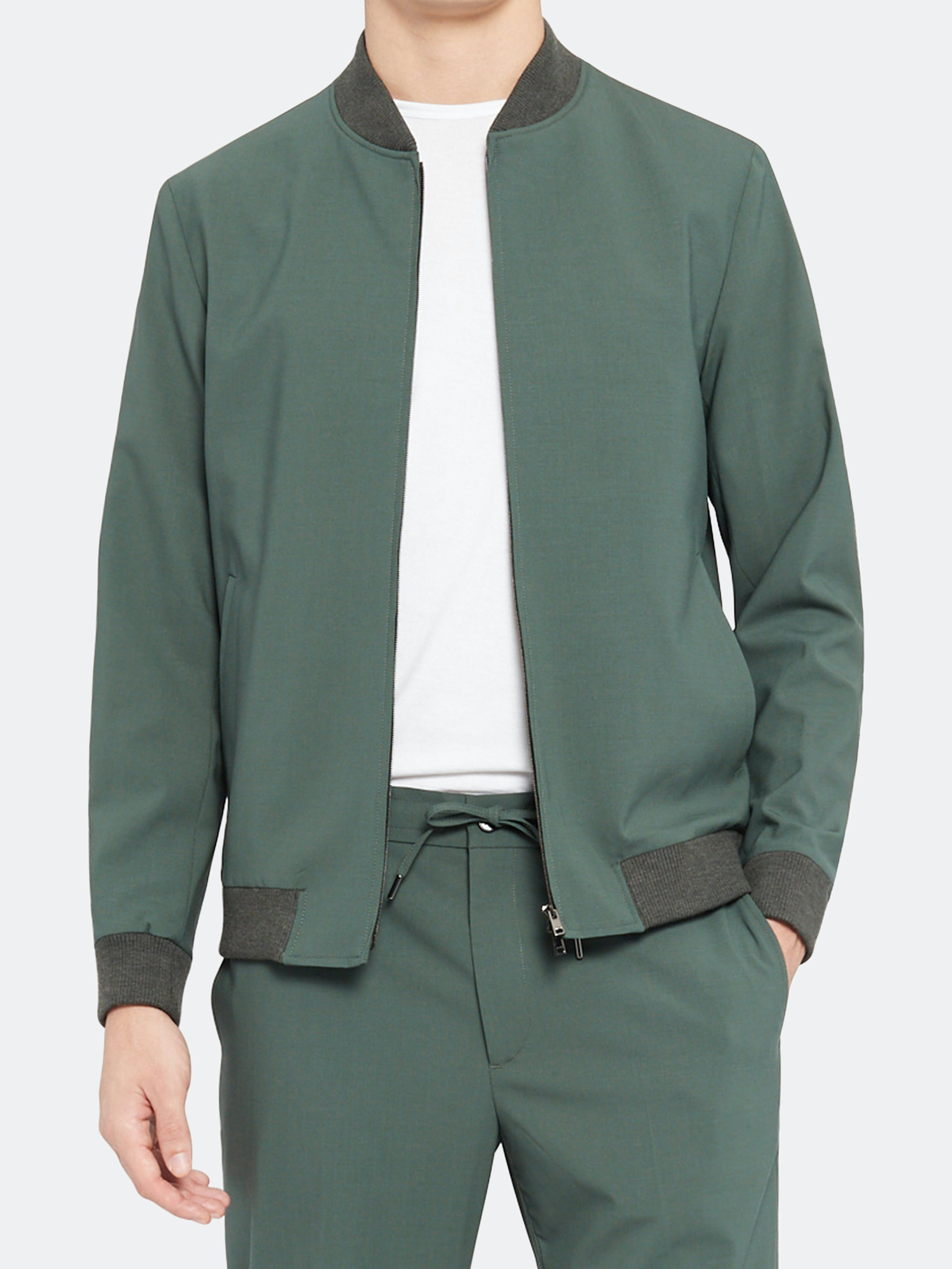 Theory THEORY AIDEN TRACEABL WOOL JACKET