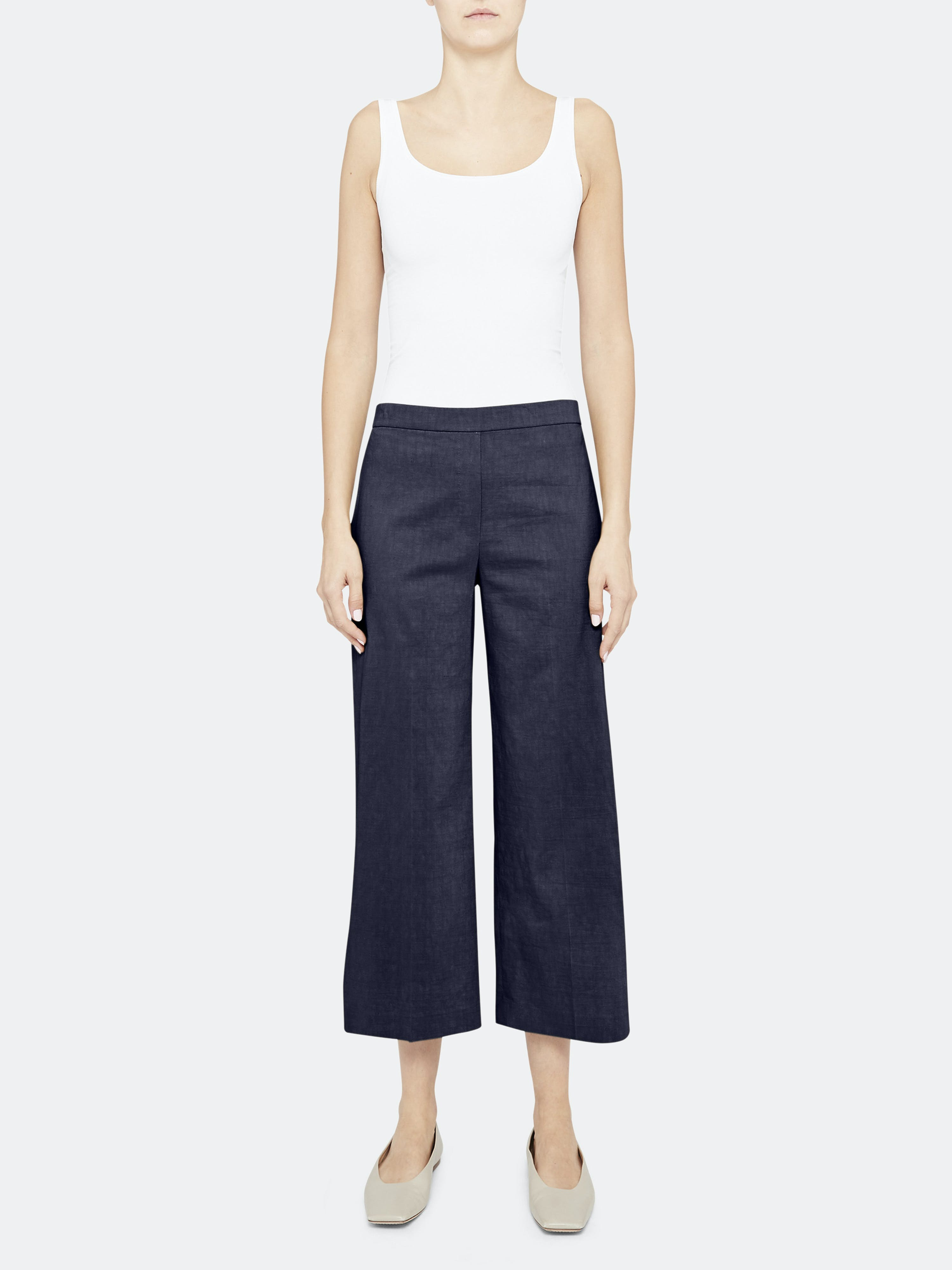 Theory THEORY WIDE PULL ON PANT