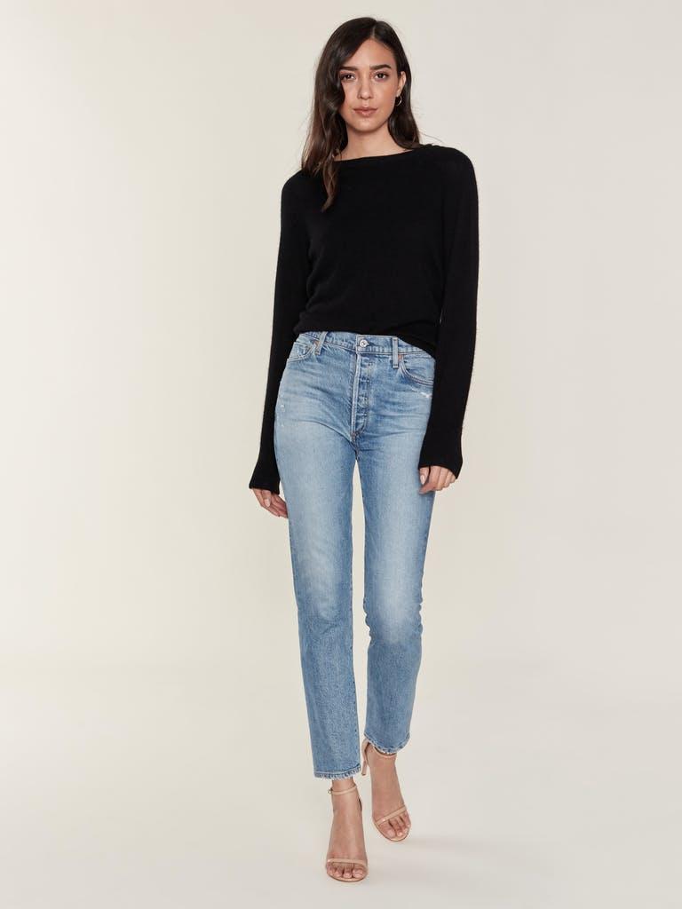 White + Warren Essential Cashmere Sweatshirt product image